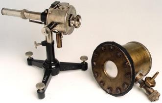 Elettrometro del Perucca e Camera di ionizzazione di E. Segrè usata per la scoperta del Tecnezio